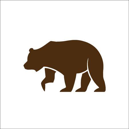 animals Vector bear silhouette logo vector designs