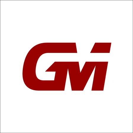 GM letter logo vector GM initials logo designs