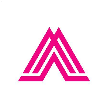 AM MA A M initial logo vector Logo