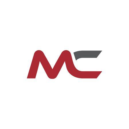 początkowy wektor logo sportowego MC Logo