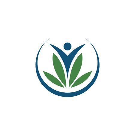 Healthy Life Logo vector template Illustration