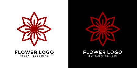 nature flower logo premium vector Logó