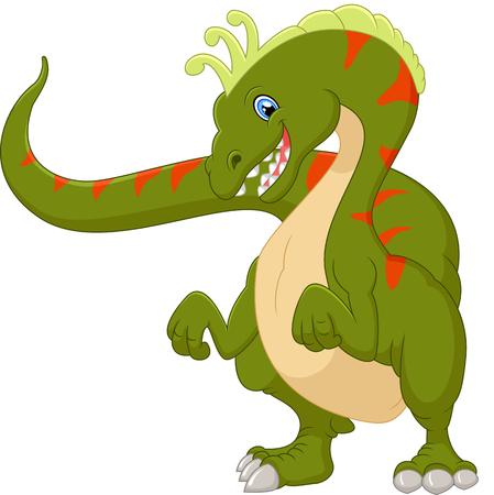 dinosaurio caricatura: Dinosaur cartoon