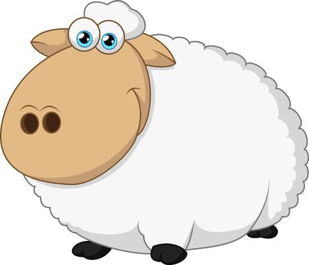 pecora: Felice pecore seduta