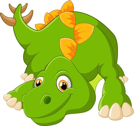 stegosaurus: Historieta linda del estegosaurio