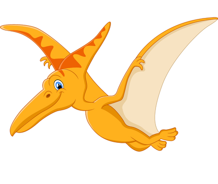 pterodactyl: Pterodactyl cartoon Stock Photo
