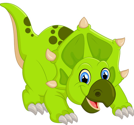 triceratops: Dinosaur Triceratops cartoon