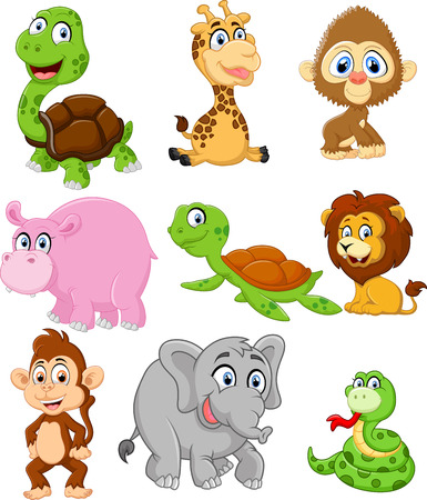 cartoon animal: illustration of animals