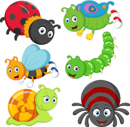 Cartoon insect Stockfoto