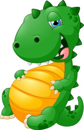 dinosaur teeth: cute cartoon dinosaur
