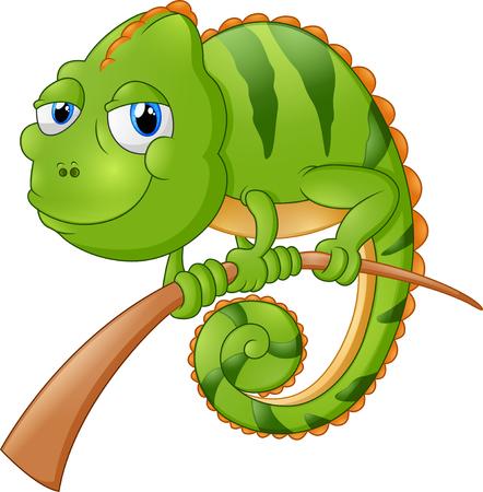 lagartija: ilustración de dibujos animados lagarto