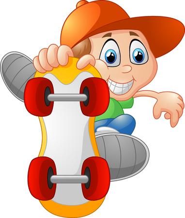 skateboarding: Skateboarding boy