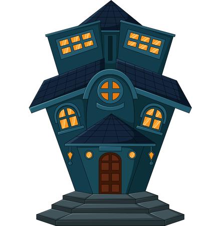old home: old home cartoon Illustration