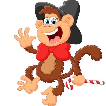 funny: Funny monkey Illustration