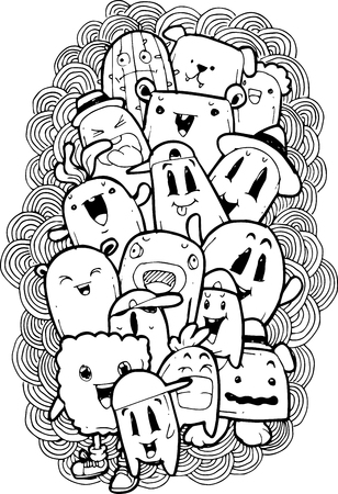 teammate: cartoon doodle sketch