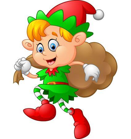 costum: little kid with gnome costum