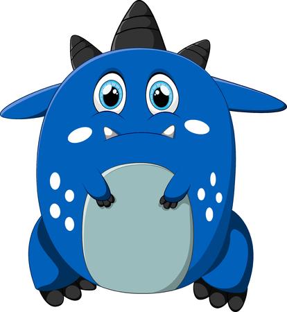 wetness: sad monster cartoon