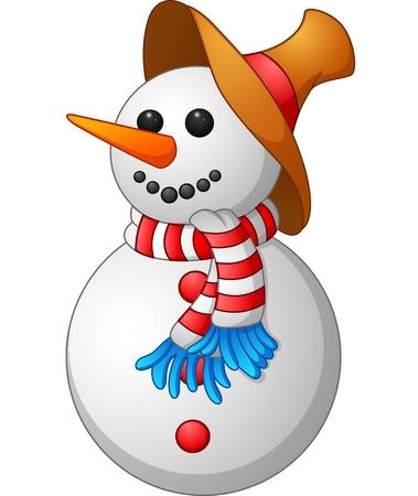 snow man: Snow Man cartoon