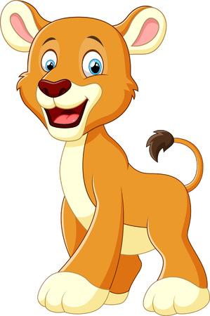 lion clipart: Lion cartoon