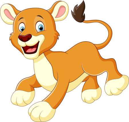 leon bebe: Le?e dibujos animados