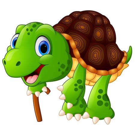 grandad: Illustration of elderly tortoise
