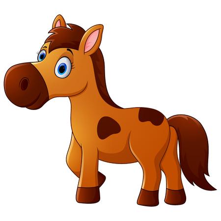 茶色の馬漫画