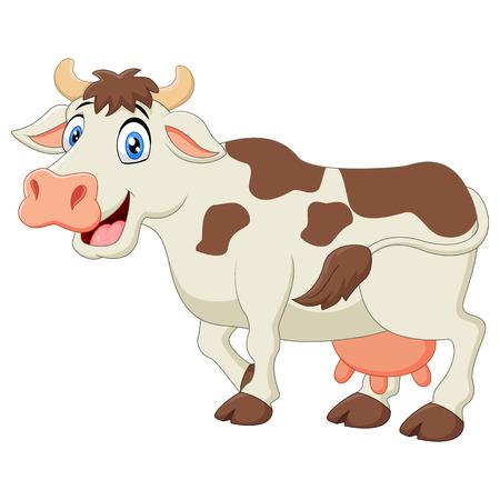 moo: Happy cartoon cow