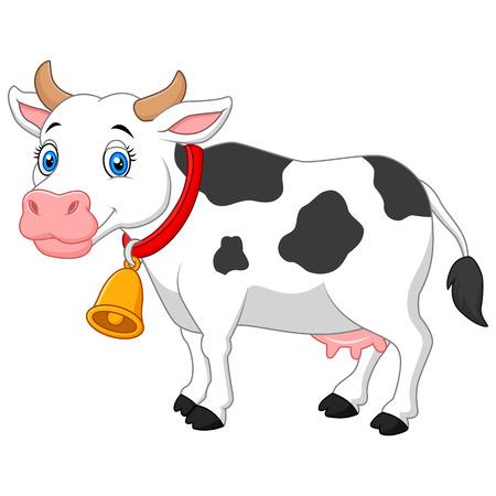 udder: Cartoon Happy cartoon cow