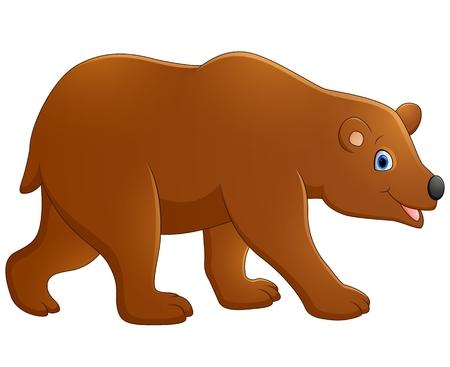 cute bear: Cute baby bear cartoon