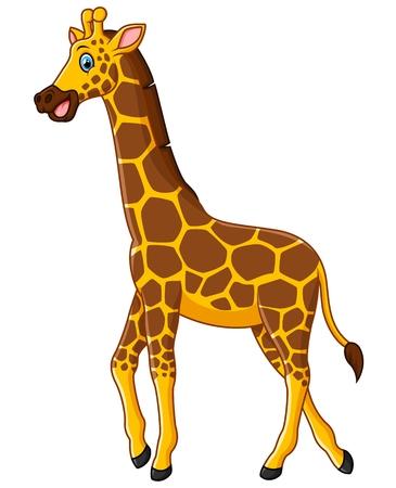 Historieta linda de la jirafa