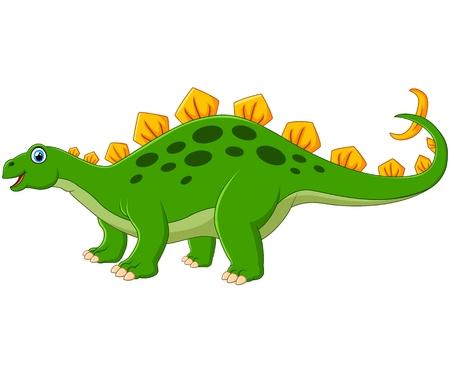 pettifogs: cute stegosaurus cartoon Illustration