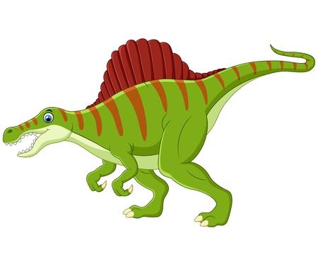 spinosaurus: Dinosaur spinosaurus cartoon Stock Photo