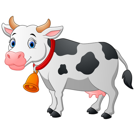 cartoon: Cartoon Happy cartoon cow