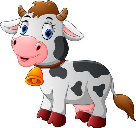 moo: Cartoon Happy cartoon cow