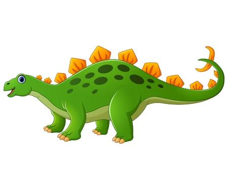 stegosaurus: linda de la historieta estegosaurio