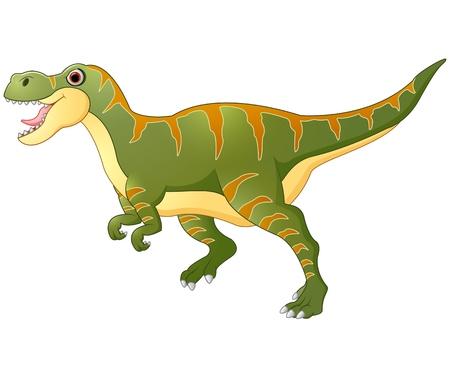 tyrannosaurus: Cartoon dinosaur tyrannosaurus