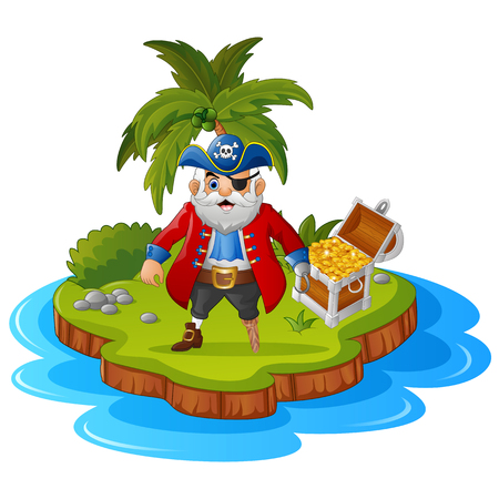 gold coast: Pirate in the treasure island