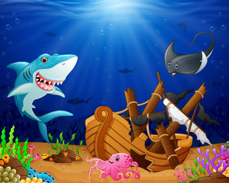 isles: illustration of under the sea