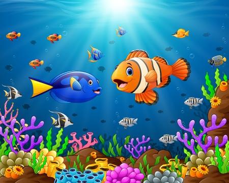 isles: under the sea Illustration
