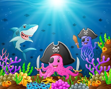 isles: under the sea Stock Photo