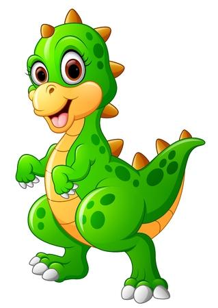 Bande dessinée mignonne de dinosaure