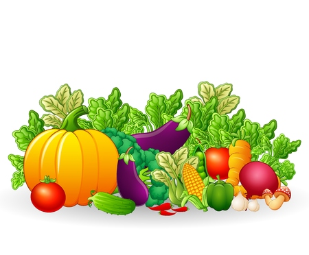 fruitage: fruits and vegetables cartoon