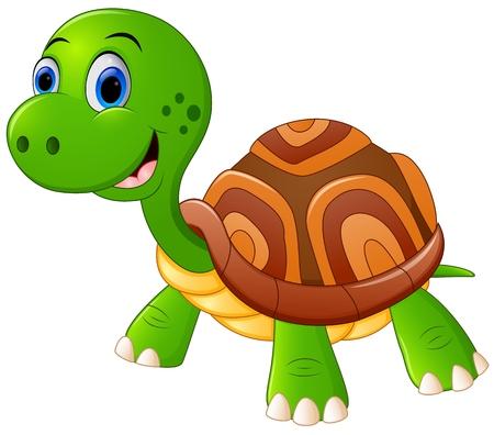 cute cartoon: Cute turtle cartoon