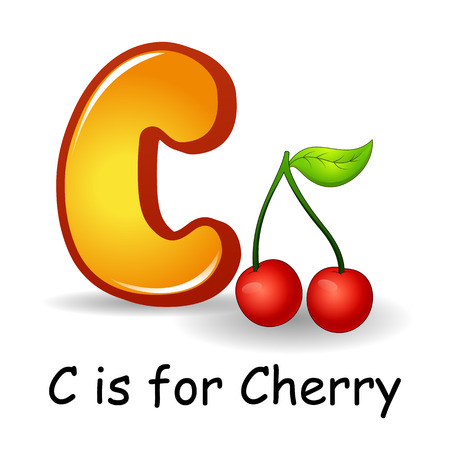 Fruits alphabet: C is for Cherry Fruits