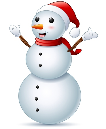 happy christmas: Happy christmas snowman