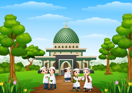 Masjid Kartun Hd Gambar Islami