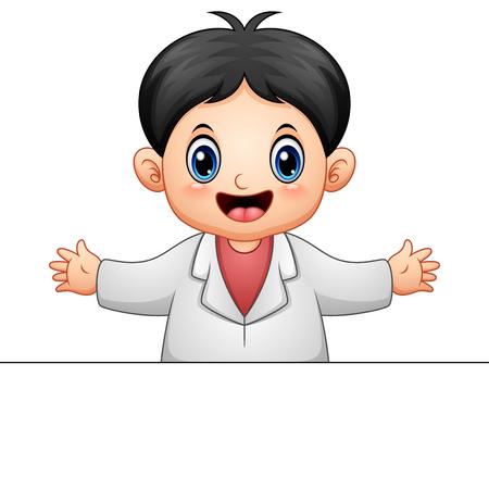 Doctor man cartoon Stock Photo