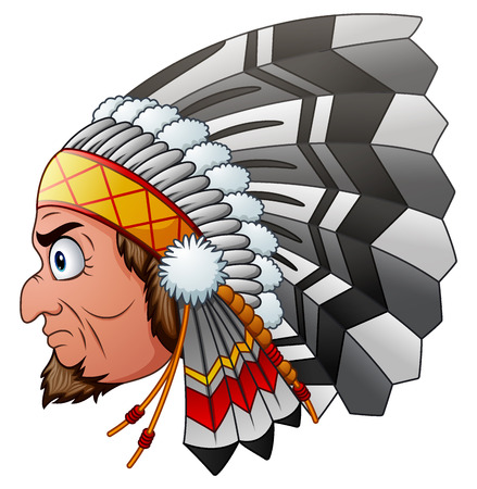 Cartoon Indian Chief