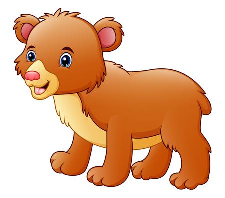 Cute bear cartoon Stock Photo