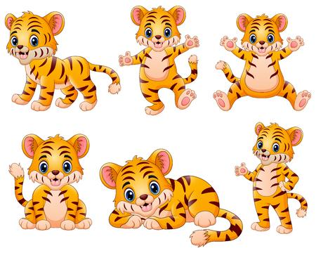 el pequeño tigre sensación feliz